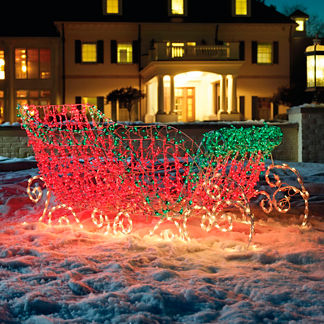Santa's Lighted Sleigh