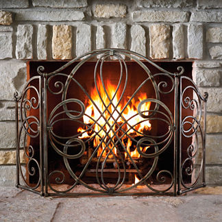 Volterra Fireplace Screen