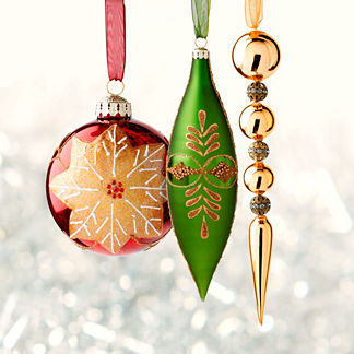 60-pc. Glad Tidings Ornaments