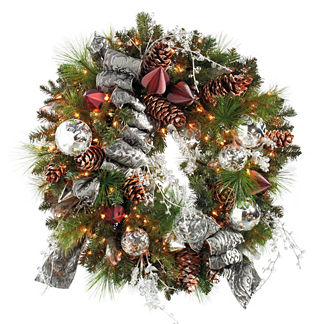 Silent Night Wreath