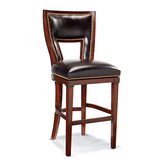 "Harlow Swivel Bar Height Bar Stool (30""H seat)"