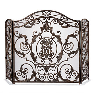 Avignon Estate-size Fireplace Screen