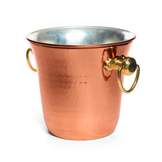 Copper Elegance Champagne Bucket