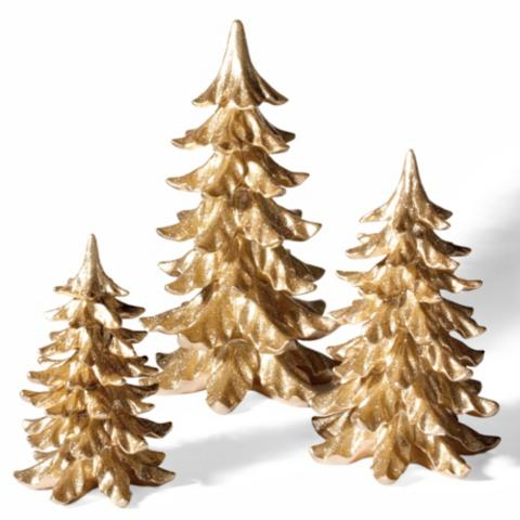 glitter christmas trees set of three - Glitter Christmas Tree