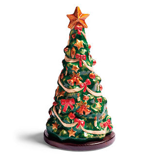 O' Christmas Tree in Paper Mache