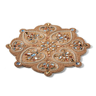Golden Jewels Table Runner