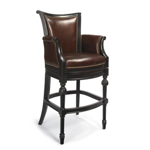 Chesterfield Bar Height Bar Stool 30 Quot H Seat Frontgate