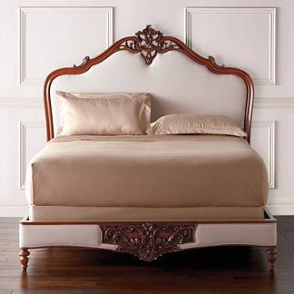 Marchand Carved Bed