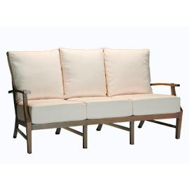 Croquet Aluminum Sofa with Cushions by Summer Classics