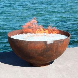 Big Bowl o' Zen Sculptural Firebowl
