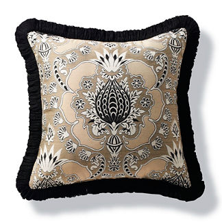 Chiquita Mineral Outdoor Pillow with Fringe