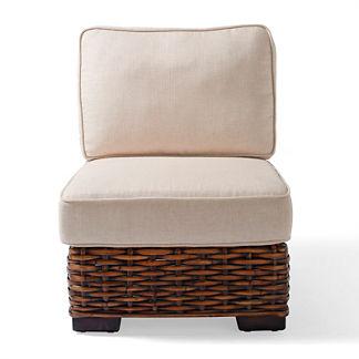 Bombay Woven Slipper Chair