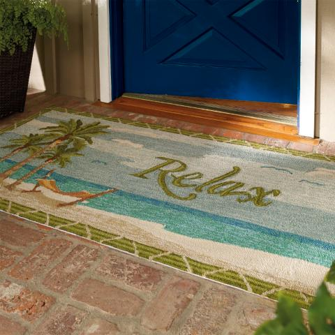 Relax Entry Mat Frontgate