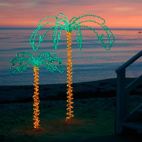 Very Lighted Palm Trees | Frontgate PX39