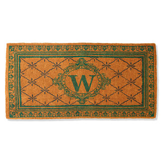Sage Estate Monogram Coco Mat