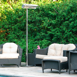 Strata Stainless Infrared Patio Heater