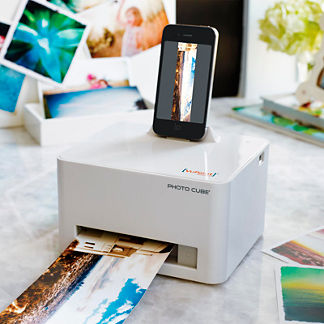 Photo Cube Printer with Free Carrying Case (a $29.50 value)