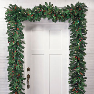 Winter Pine Cordless Garland