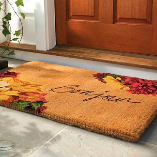 Autumn Bonjour Coco Door Mat