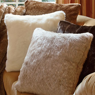 Luxury Faux Fur Pillow