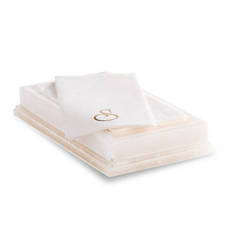 Orleans Alabaster Guest Towel Tray