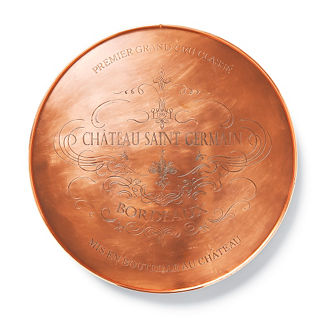 Copper Etched Lazy Susan