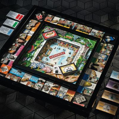 Limited Edition 3d New York City Monopoly By Charles