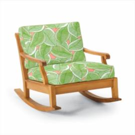 Cassara Rocking Lounge Chair with Cushions