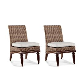 St. Martin Dining Side Chairs with Cushions, Set