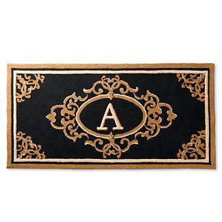 Harrison Monogrammed Entry Mat
