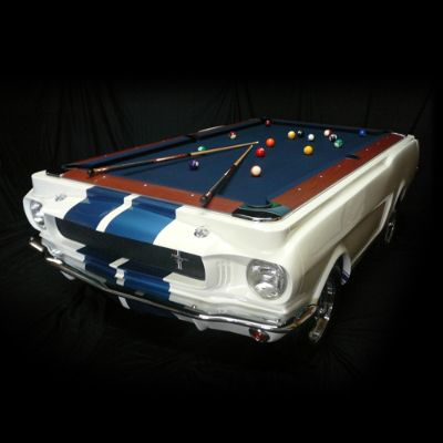 Limited Edition 1965 Shelby Gt 350 Pool Table Frontgate