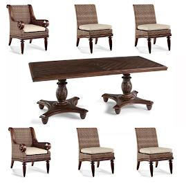 St. Martin 7-pc. Rectangular Dining Set