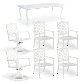 Glen Isle 7-pc. Rectangular Dining Set in White
