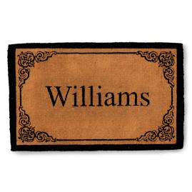 Bellair Last Name Personalized Door Mat