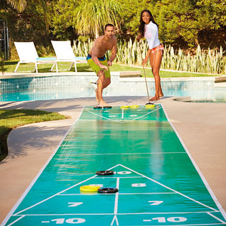 Portable Shuffleboard Set