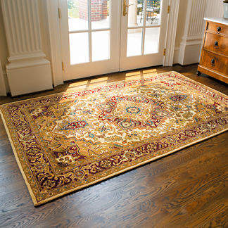 Classic Golden River Area Rug