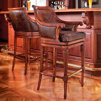 "Lonsdale Swivel Bar Height Bar Stool (30""H seat)"