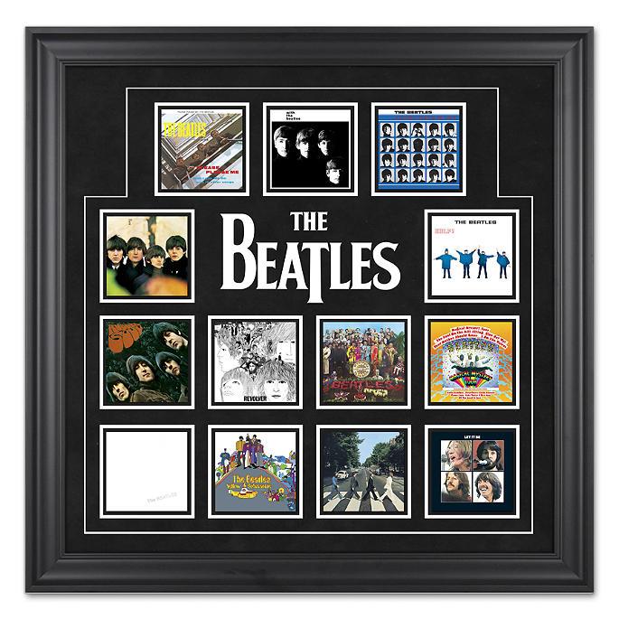 Beatles Framed Presentations | Frontgate