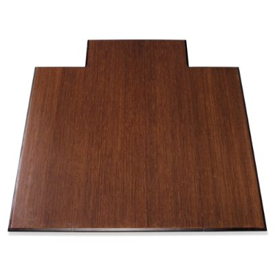 Bamboo Office Chair Mat Frontgate