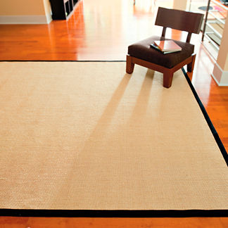 Natural-fiber Sisal Area Rug
