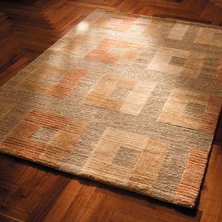 Santa Fe Squares Wool Area Rug