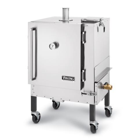 Viking Gravityfeed Stainless Steel Smoker Frontgate - Viking smoker