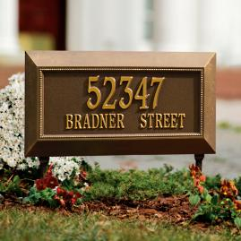 Farrington Address Plaques