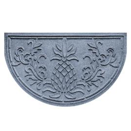 Water & Dirt Shield Pineapple Half-Round Mat