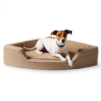Linen Corner Pet Bed