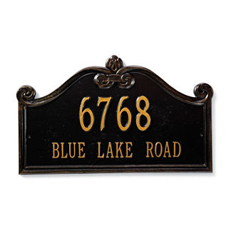 Customizable Lancaster Estate Lawn Plaque