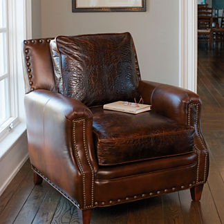 Rutledge Leather Club Chair