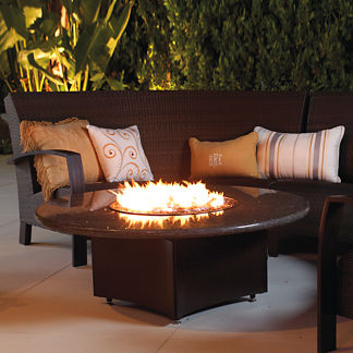 Oriflamme ™ Fire Table with Swirl Burner
