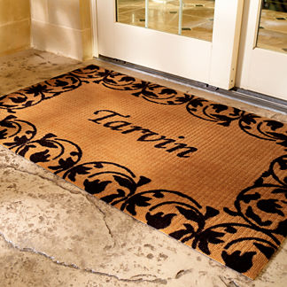WATER & DIRT SHIELD ™ Personalized Nylon Door Mat