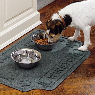 Water & Dirt Shield Personalized Pet Mat